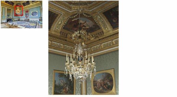 Premier étage - Aile centrale - Les grands appartements - 12 Salon des nobles